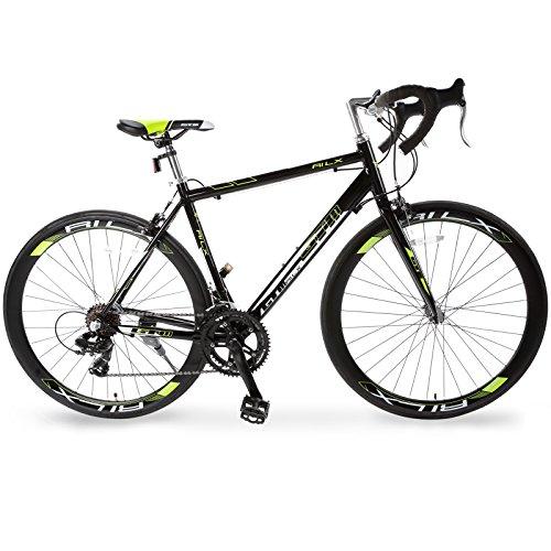 Frame Road - Murtisol GTM 700C Road Bike with Aluminum Frame and Steel Fork,Light Green