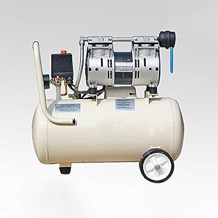 SATKIT Compresor aire silencioso (66db) sin aceite 30 litros modelo OTS750-30