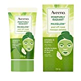 Aveeno MaxGlow Peel Off Face Mask with Exfoliating AHA, Brightening, 59g