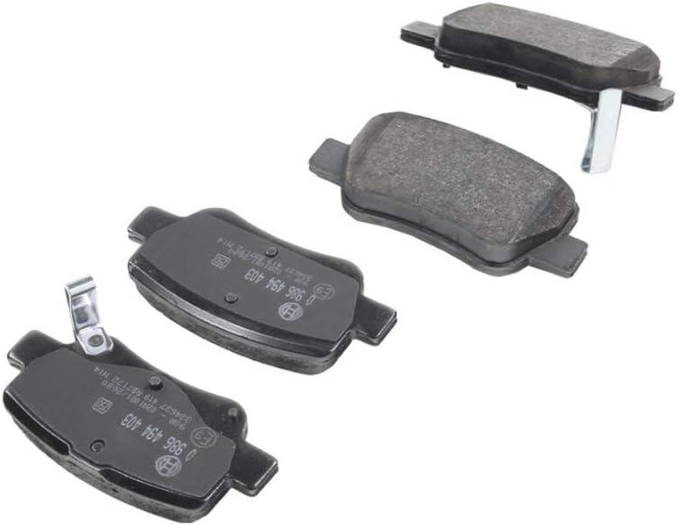 1 BOSCH Kit pastiglie freno Freno a disco Assale posteriore AVENSIS