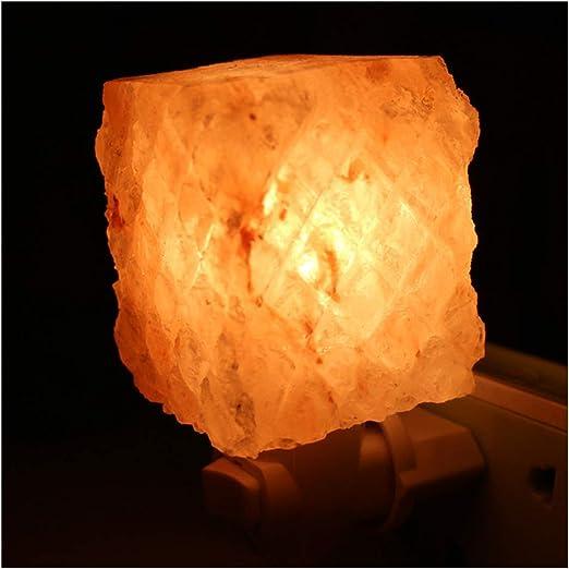 Cuadrados de mosaica lámpara de sal, sal del Himalaya lámpara ...