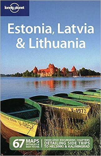 5th Edition Lonely Planet Estonia Latvia /& Lithuania 5th Ed.