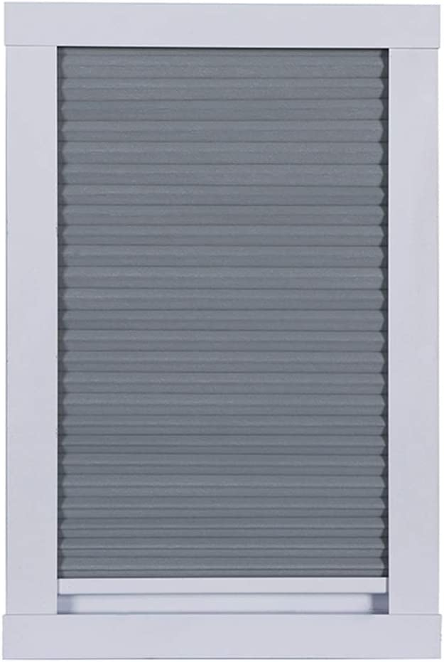 YXX- Grey Cordless Skylight Blinds with Handle, 100% Blackout Cellular Window Shades for Porch, Roof Windows & Bedroom (Size : 60×120cm)