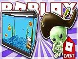 Clip: How To Get The Aquarium Hat And Davey Jones Smith! Roblox Atlantis Event
