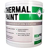 Rempro Thermal Paint 2.5 litres - Anti Mould & Anti Condensation Insulating with Glass Bubble Technology (Textured Finish)