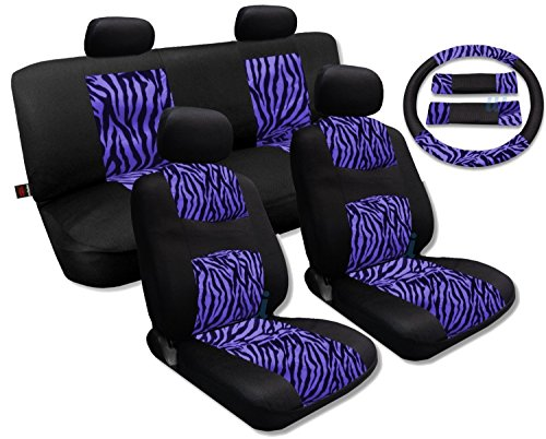 zebra car seat covers honda civic - 6