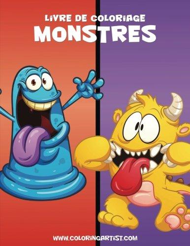 Livre de coloriage Monstres 1 (Volume 1) (French Edition)]()