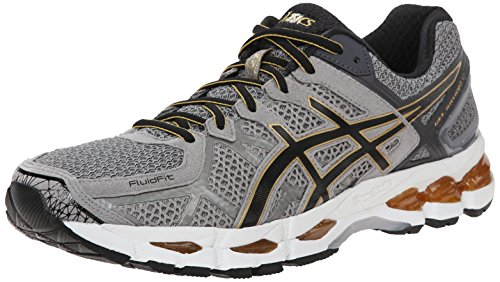 timeless design e9e44 1d5d2 ASICS Men s Gel Kayano 21 Running Shoe, Grey Beige Black Gold, 9.5 M US -  Buy Online in Oman.   Shoes Products in Oman - See Prices, Reviews and Free  ...