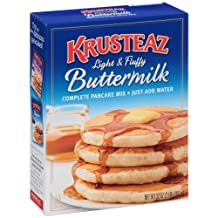 Krusteaz Buttermilk Pancake Mix, 2-Pound Boxes (Pack of 4) by Krusteaz
