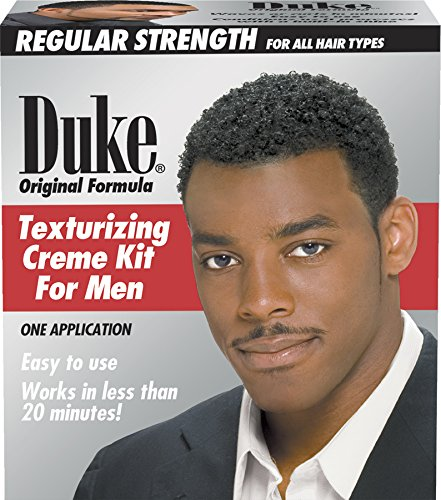 Duke Texturizing Creme Kit for Men Regular | Easy To Use for All Hair Types, 1 Count (Best Texturizer For 4c Hair)