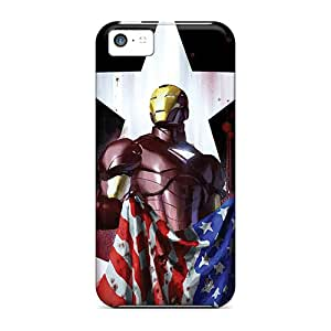 New Diy Design Iron Man I4 For Iphone 5c Cases Comfortable For Lovers And Friends For Christmas Gifts