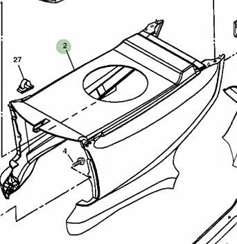 John Deere Original Equipment Hood Kit #AM131759