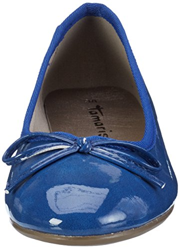 Tamaris 22118, Bailarinas para Mujer Azul (ROYAL PATENT 986)