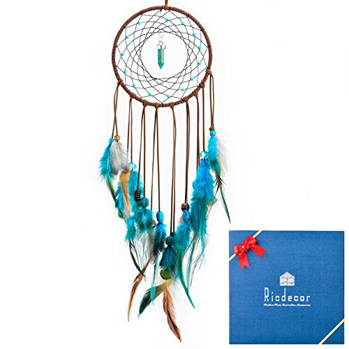18th Fireplaces Century (Ricdecor Emerald Dream Catcher for Bedroom,Handmade Exquisite Dream Catcher Wall Hanging,Car Hanging Decoration Ornament)