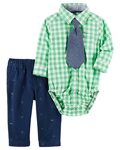 Carter's Baby Boys' 2-Piece Shirt And Pant Set 18 Months Ridiculous Baby Outfits