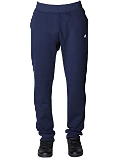 8be56feb3e7f1 Le Coq Sportif Tri Homme Pantalon Slim Marine Denim: Amazon.fr ...