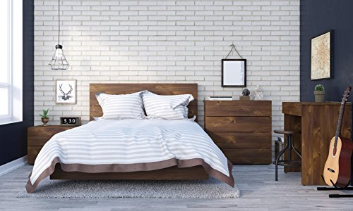 - Nexera Karibou 5 Piece Full Size Bedroom Set Truffle