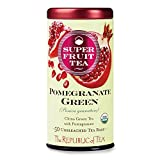 Best The Republic of Tea Hot Teas - The Republic of Tea, Pomegranate Green Tea, 50-Count Review