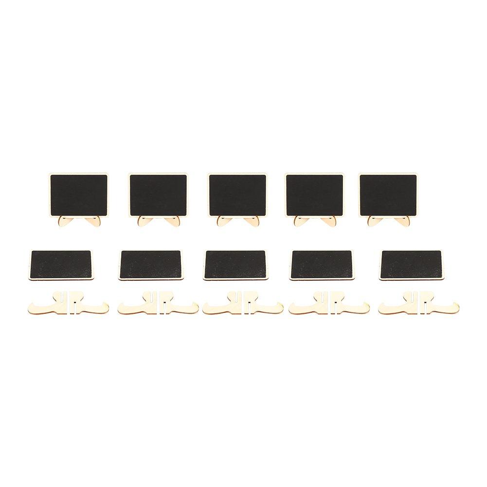 Mini Tableau /à M/émos avec Support Panneaux /à Message Lot de 10//20//50 Babillards Signes Mariages F/êtes