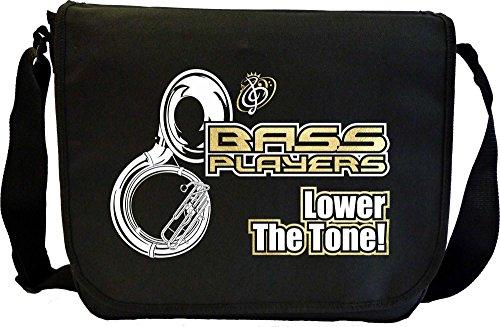 Sousaphone Lower The Tone - Musik Noten Tasche Sheet Music Document Bag MusicaliTee 3b4wl