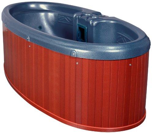 QCA Spas Model 0 Gemini Plug and Play Hot Tub, 92 by 42 by 29-Inch, Blue Denim