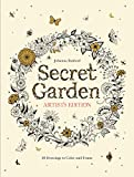 #8: Secret Garden Artist's Edition: 20 Drawings to Color and Frame