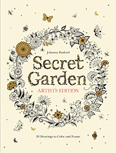 Secret Garden Artist Edition: 20 Drawings