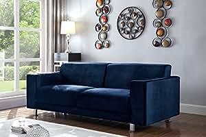 Amazon.com: Iconic Home Amarillo Elegant Velvet Modern ...