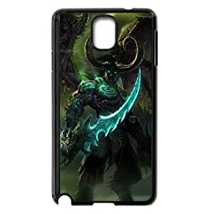 World Of Warcraft Samsung Galaxy Note 3 Cell Phone Case Black Phone Accessories JV242068