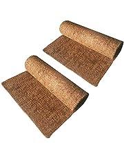 "Hamiledyi 2Packs Reptile Carpet Natural Coconut Fiber Tortoise Carpet Mat for Pet Terrarium Liner Reptile Supplies for Lizard Snake Chamelon Turtle Bedding Bunny Rabbit Mat(19.7""x11.8""/50 * 30 * 1cm"