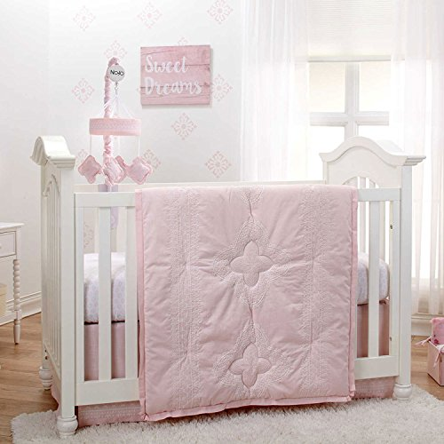 Pink 4 Piece Crib - 7