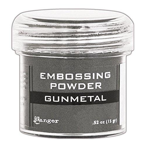 Embossing Metal Powders - Ranger Gunmetal Metallic Embossing Powder
