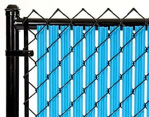 6ft cielo Azul Ridged listones® para cadena Link valla