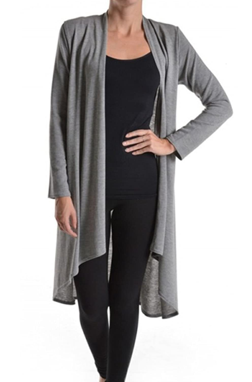 Azules Women's Long Length Cardigan at Amazon Women's Clothing store:
