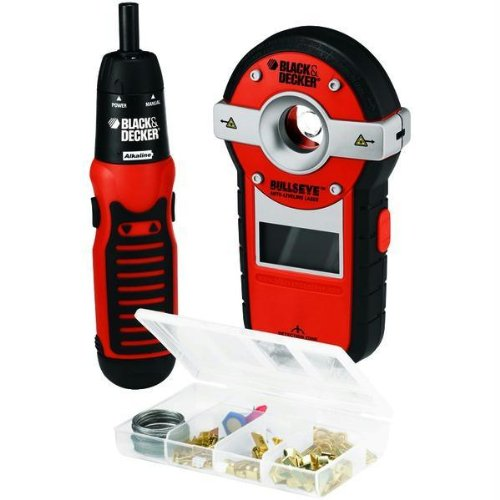 BLACK & DECKER BDL190S BullsEye(R) Auto-Leveling Laser with Stud Sensor (Black Decker Auto Wrench compare prices)