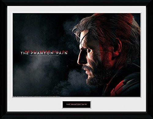 GB Eye Ltd, Metal Gear Solid V, Snake, Foto incorniciata, 40 x 30 cm PFC1749