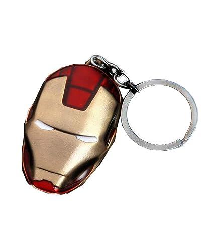 Nexthops Llavero de Máscara Iron Man Mask Keychain Los ...
