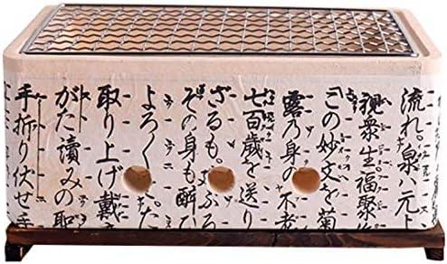 Mini Gril À Charbon De Style Japonais Argile Gril Portable, Accessoires De Fête Intérieur Et Extérieur Outils Barbecue Maison
