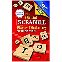 MERRIAM - WEBSTER INC. OFFICIAL SCRABBLE PLAYER DICTIONARY (Set of 6)
