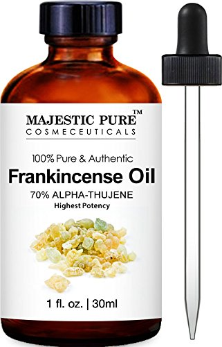 Frankincense Essential Oil from Majestic Pure, 1 Fluid Ounce, 100% Pure and Authentic