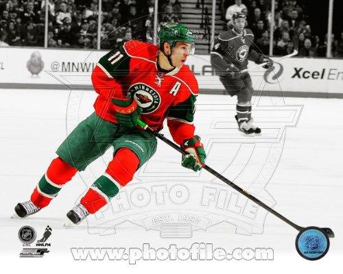 Zach Parise Minnesota Wild 2013 NHL Spotlight Action Photo 8x10