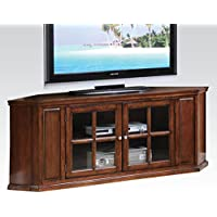 ACME Malka Oak Corner TV Stand