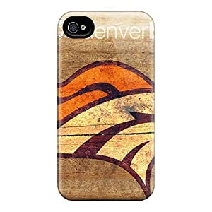 Durable Defender Case For Iphone 6 Tpu Cover(denver Broncos)