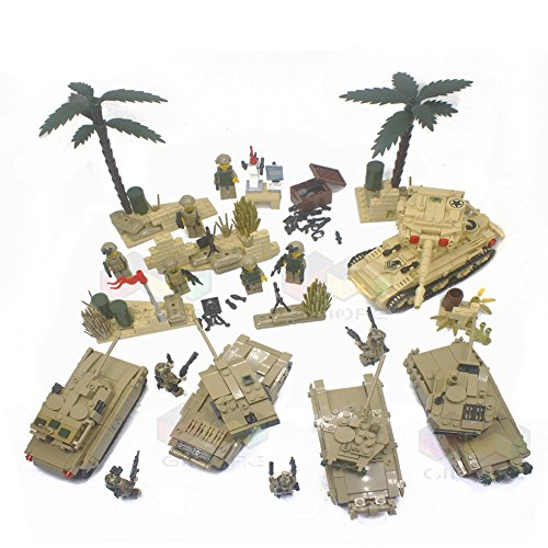 M1a2 Abrams Battle Tank (Military Collection Series T90 M1A2 Abrams Challenger 2 Leclerc Main Battle Tank SK105 Light Tank Heavily fortified positions Artillery Army Building Blocks 1800+pcs 10dolls Educational DIY Toy)
