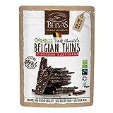 Belvas Belgian Thins Organic Dark Chocolate 85% Coco Blossom Sugar 120g Review