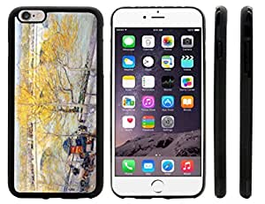 Childe Hassam Art Pont Royal Paris Design iPhone 6 Plus Case Cover (Black Rubber with front bumper protection) for Apple iPhone 6 Plus sell on Zeng case