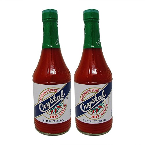 Bundle-2 Items : Crystal Hot Sauce Louisiana