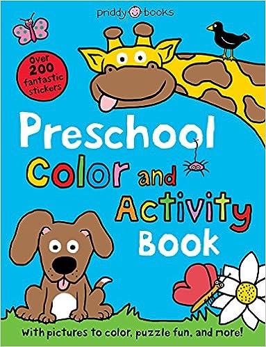 Buy Preschool Color & Activity Book (Color and Activity Books) Book ...