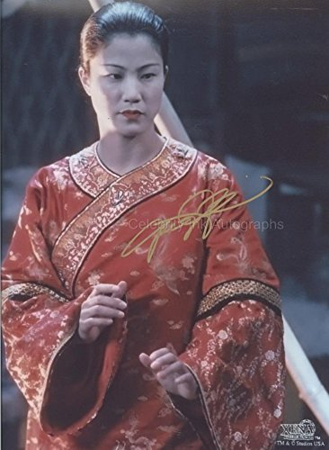 JACQUELINE KIM as Lao Ma - Xena: Warrior Princess GENUINE AUTOGRAPH
