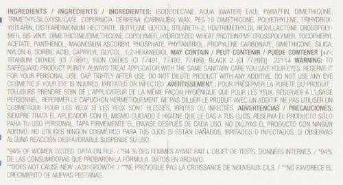 Revlon Grow Luscious By Fabulash, Waterproof, 821 Blackest B